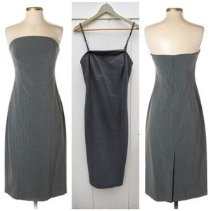 Express Stretch Gray Casual Dress Size 11 12